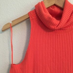 NWT Free People Cowl Neck Sleeveless Top Size Sm